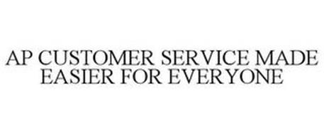 AP CUSTOMER SERVICE MADE EASIER FOR EVERYONE