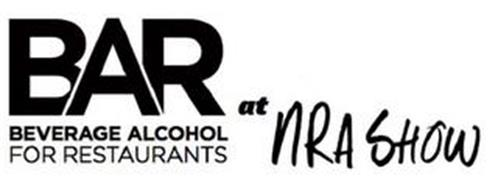 BAR BEVERAGE ALCOHOL FOR RESTAURANTS AT NRA SHOW