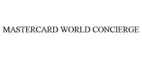 MASTERCARD WORLD CONCIERGE