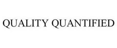 QUALITY QUANTIFIED