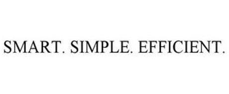 SMART. SIMPLE. EFFICIENT.