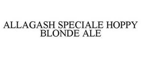 ALLAGASH SPECIALE HOPPY BLONDE ALE