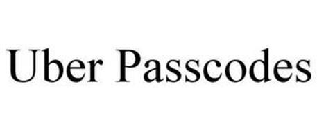 UBER PASSCODES