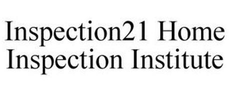 INSPECTION21 HOME INSPECTION INSTITUTE