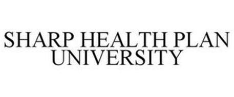 SHARP HEALTH PLAN UNIVERSITY