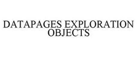 DATAPAGES EXPLORATION OBJECTS