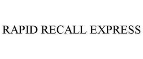 RAPID RECALL EXPRESS
