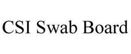 CSI SWAB BOARD