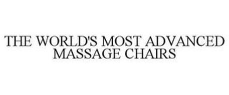 THE WORLD'S MOST ADVANCED MASSAGE CHAIRS