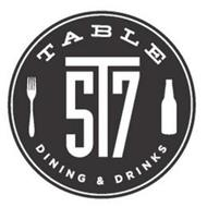 TABLE 5T7 DINING & DRINKS