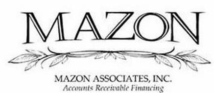 MAZON MAZON ASSOCIATES, INC., ACCOUNTS RECEIVABLE FINANCING