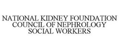 NATIONAL KIDNEY FOUNDATION COUNCIL OF NEPHROLOGY SOCIAL WORKERS