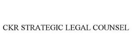 CKR STRATEGIC LEGAL COUNSEL