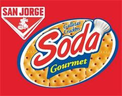 SAN JORGE X GALLETAS CRACKERS SODA GOURMET