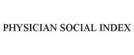 PHYSICIAN SOCIAL INDEX