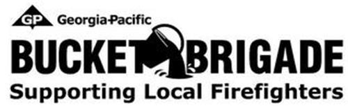 GP GEORGIA-PACIFIC BUCKET BRIGADE SUPPORTING LOCAL FIREFIGHTERS