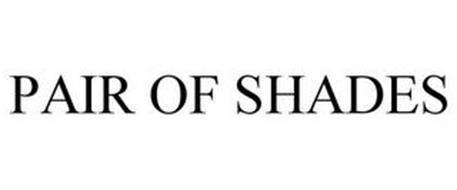PAIR OF SHADES