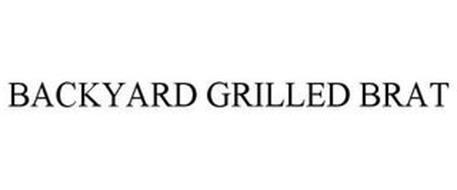 BACKYARD GRILLED BRAT