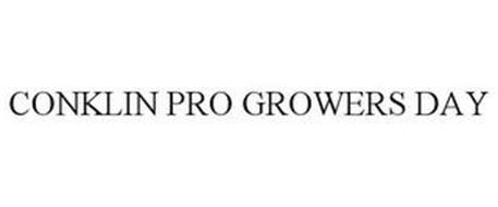 CONKLIN PRO GROWERS DAY