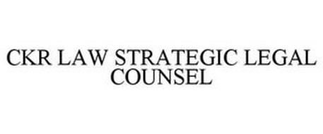 CKR LAW STRATEGIC LEGAL COUNSEL