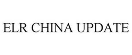 ELR CHINA UPDATE