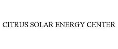 CITRUS SOLAR ENERGY CENTER