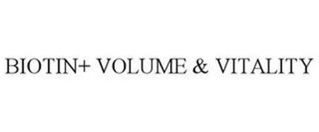 BIOTIN+ VOLUME & VITALITY