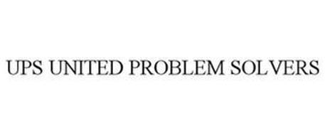 UPS UNITED PROBLEM SOLVERS