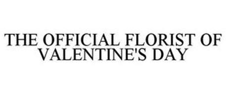 THE OFFICIAL FLORIST OF VALENTINE'S DAY