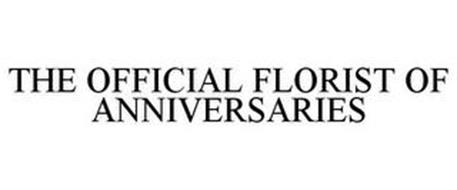 THE OFFICIAL FLORIST OF ANNIVERSARIES