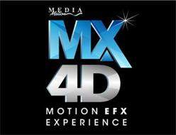 MEDIAMATION MX4D MOTION EFX EXPERIENCE