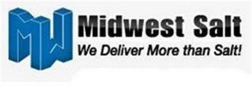 MW MIDWEST SALT WE DELIVER MORE THAN SALT!