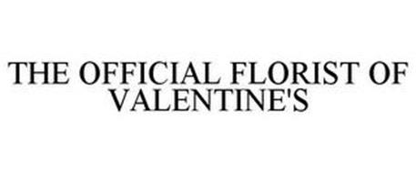 THE OFFICIAL FLORIST OF VALENTINE'S