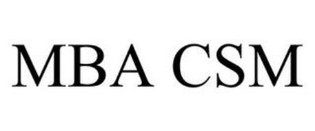 MBA CSM