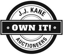 J.J. KANE OWN IT! AUCTIONEERS
