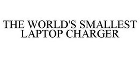 THE WORLD'S SMALLEST LAPTOP CHARGER