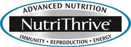 NUTRITHRIVE ADVANCED NUTRITION IMMUNITY REPRODUCTION ENERGY