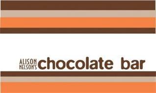 ALISON NELSON'S CHOCOLATE BAR