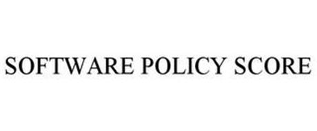 SOFTWARE POLICY SCORE