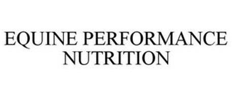EQUINE PERFORMANCE NUTRITION