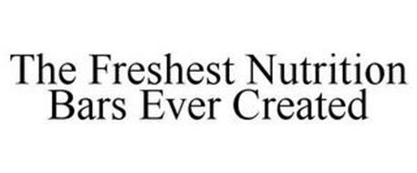 THE FRESHEST NUTRITION BARS EVER CREATED