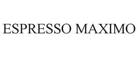 ESPRESSO MAXIMO