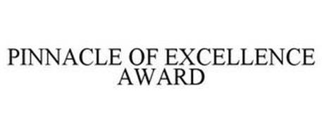 PINNACLE OF EXCELLENCE AWARD