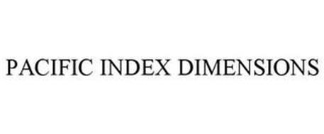 PACIFIC INDEX DIMENSIONS