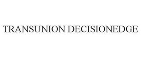 TRANSUNION DECISIONEDGE