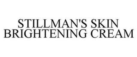 STILLMAN'S SKIN BRIGHTENING CREAM