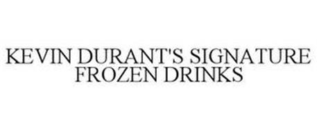 KEVIN DURANT'S SIGNATURE FROZEN DRINKS
