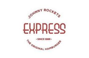 JOHNNY ROCKETS EXPRESS · SINCE 1986 · THE ORIGINAL HAMBURGER