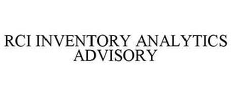 RCI INVENTORY ANALYTICS ADVISORY