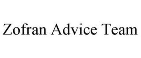 ZOFRAN ADVICE TEAM